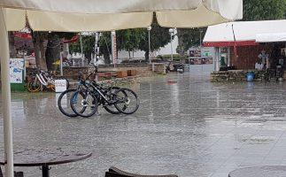 Von der Traufe in den Regen