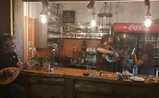 Die Taverne am Peristeres Beach